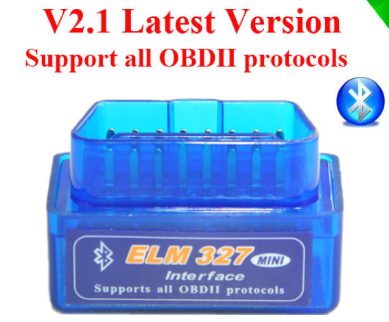 ELM327 Bluetooth OBDii Reader